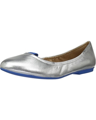 The Fix Women's Sloan Tab Elasticated Ballet Flat