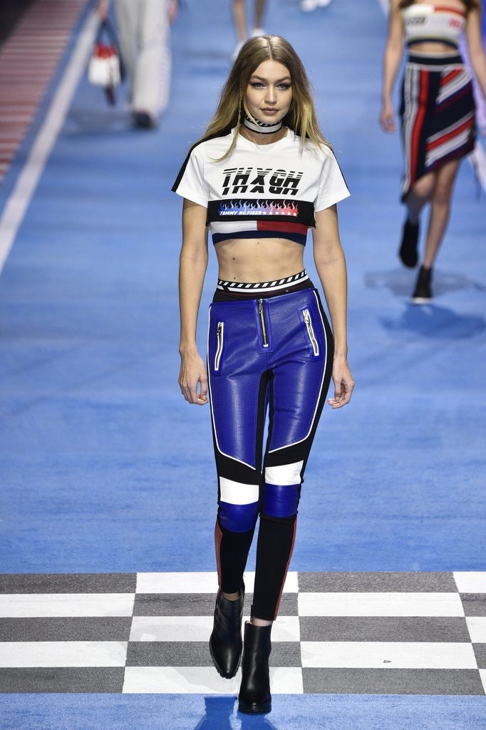 Gigi Hadid Walked the Runway in Her Tommy Designs