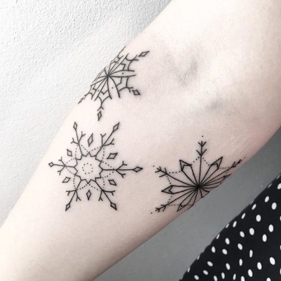 A Snowflake Tattoo