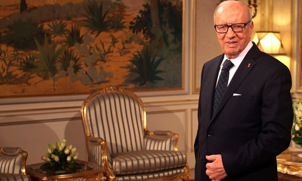 Beji Caid Essebsi, Tunisia