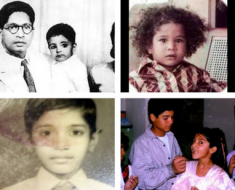 Childhood Photos Of Indian Celebrities
