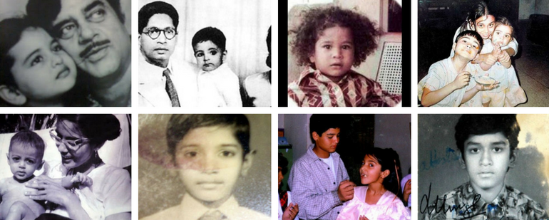 30 Childhood Photos Of Indian Celebrities We Bet You Haven't Seen Before