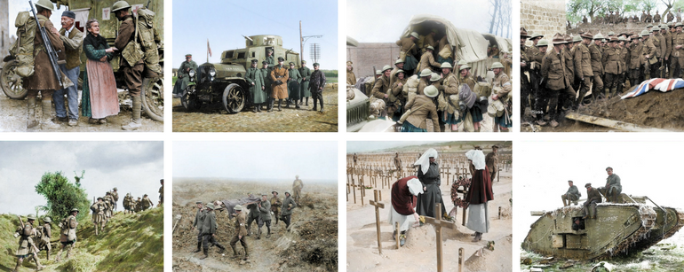 43 Rare Color Photos From the First World War