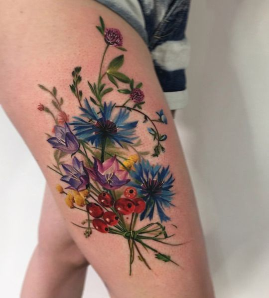 Flower Tattoos