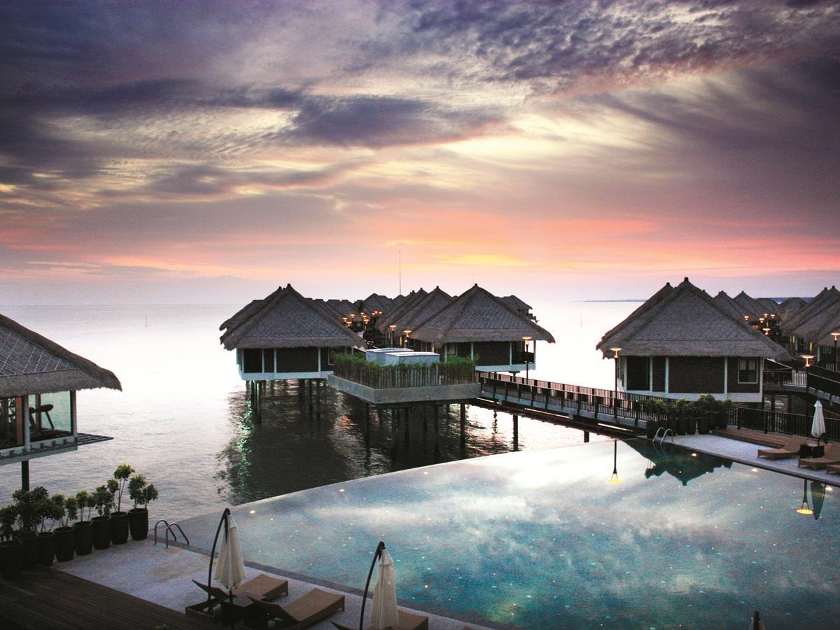 Mine resort