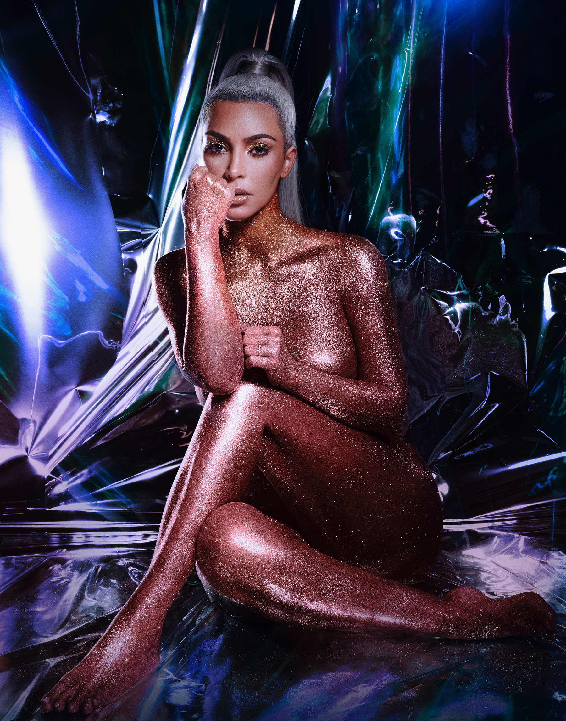 Kim Kardashian Unravels The Secrets Of Her Glitzy Lip