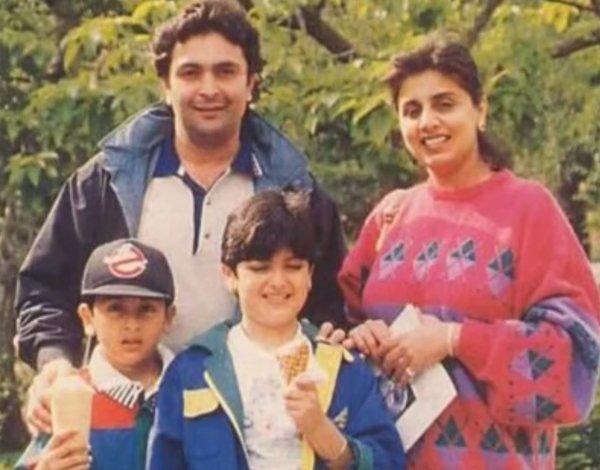 young Ranbir Kapoor