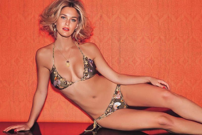 30 Photos Of Model Bar Refaeli Sizzles In A Skimpy Tiny Bikini