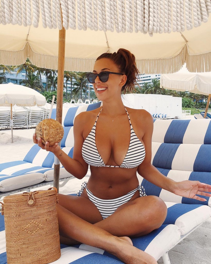 Busty Bikini Blogger Devin Brugman Showcases Her Enviable Curvaceous Body