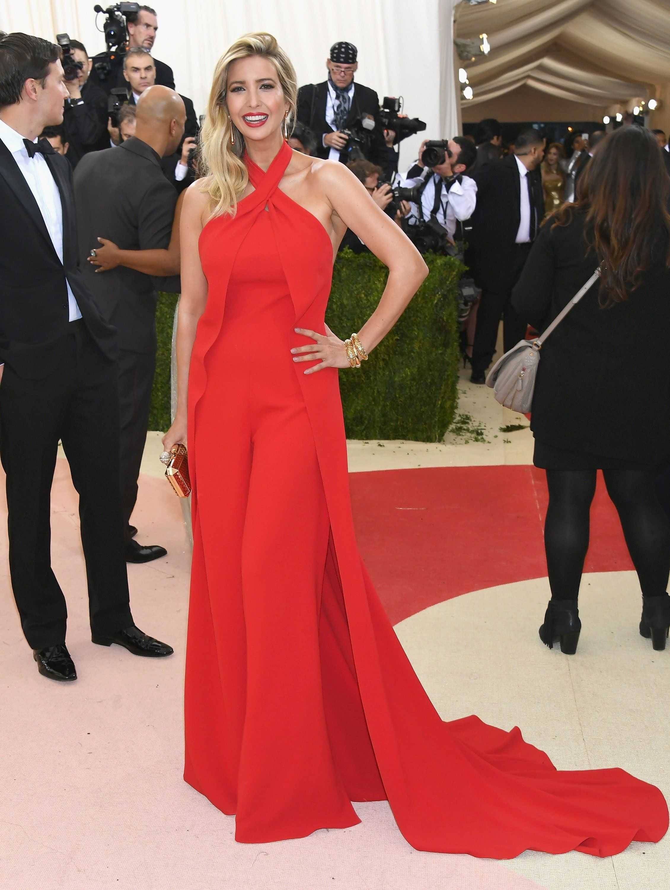 Ivanka Trumps At The Met Gala (1)