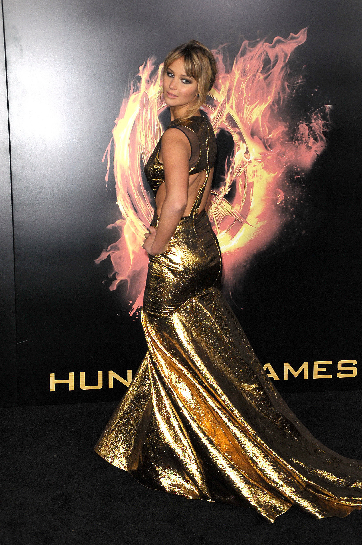 Jennifer Lawrence butt