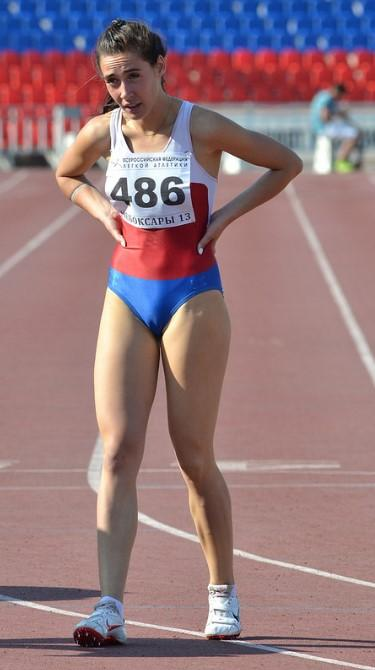 Russian Sport Girl Cameltoe