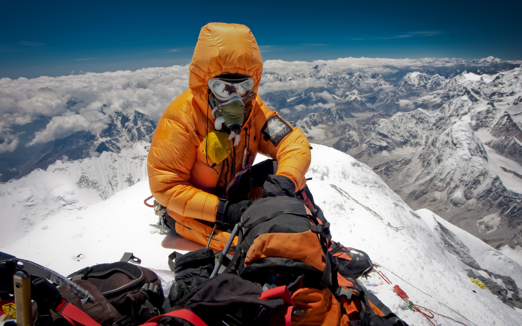 Scale the highest peak in the world – Mount Everest