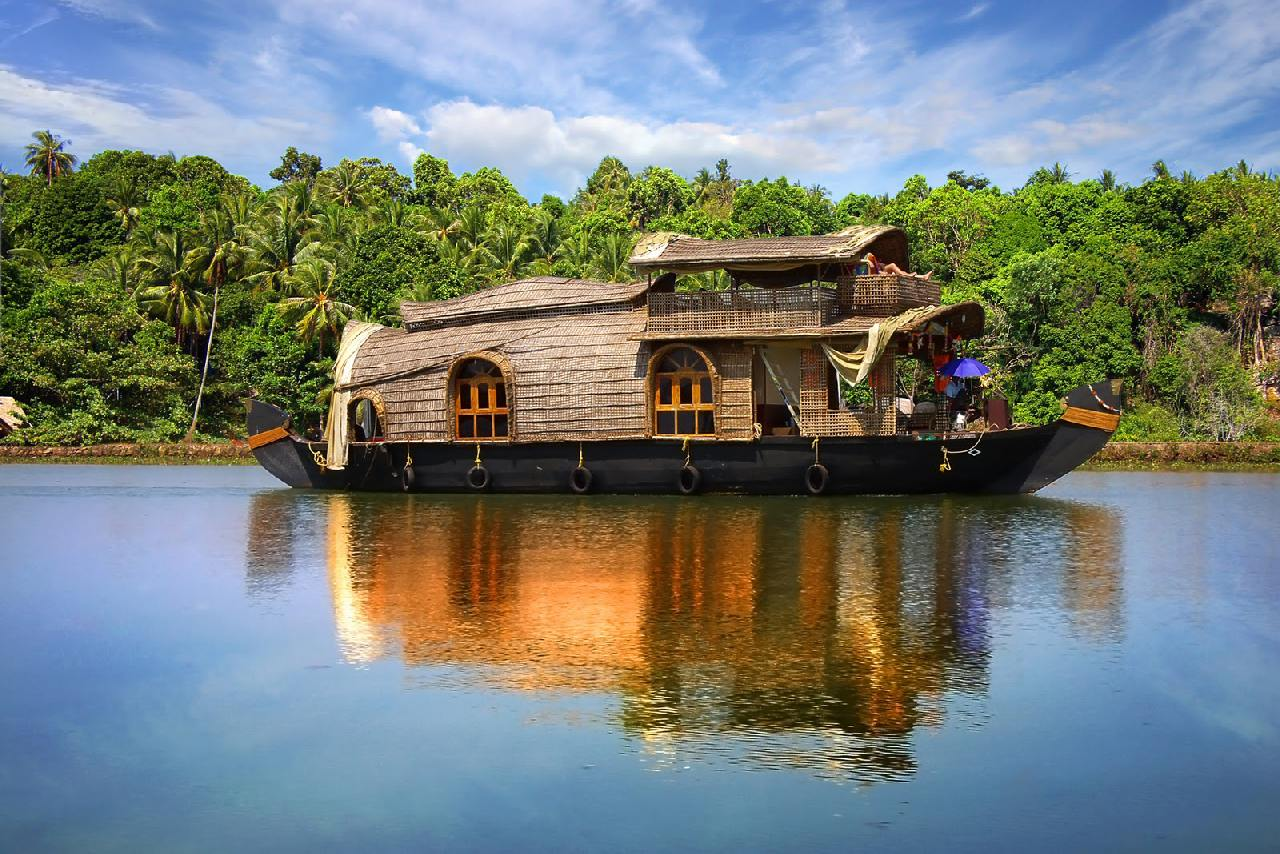Slow down on the Keralan backwaters