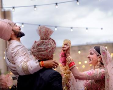 anushka sharma and virat kohli marriage
