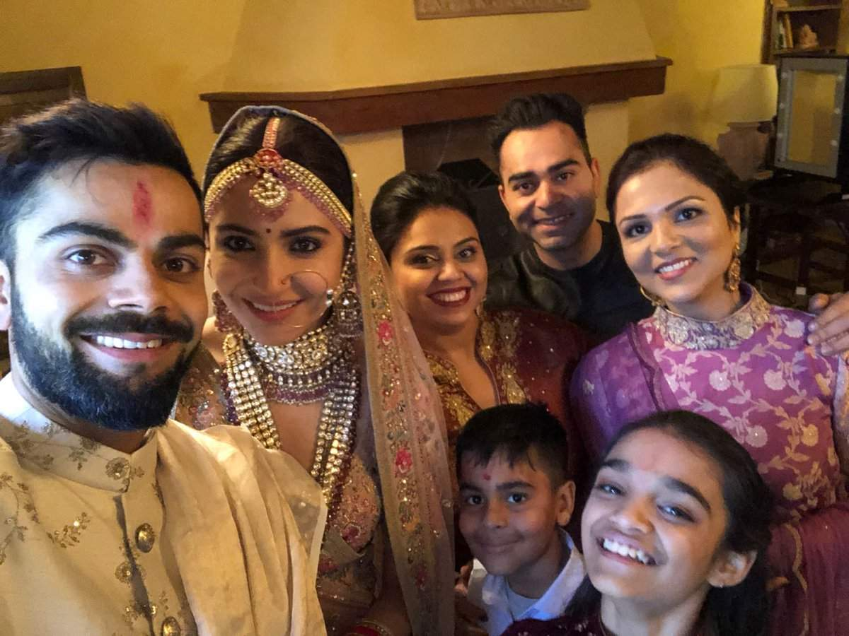 Virat Kohli are married with Anushaka