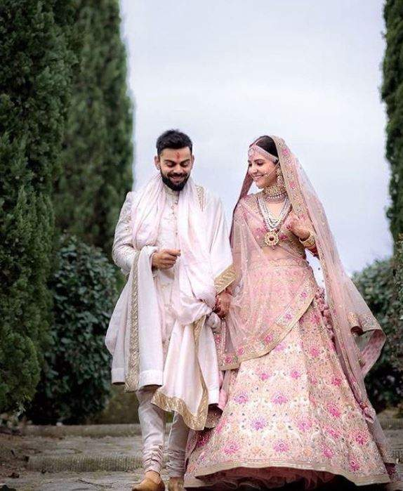 Virat Kohli are married