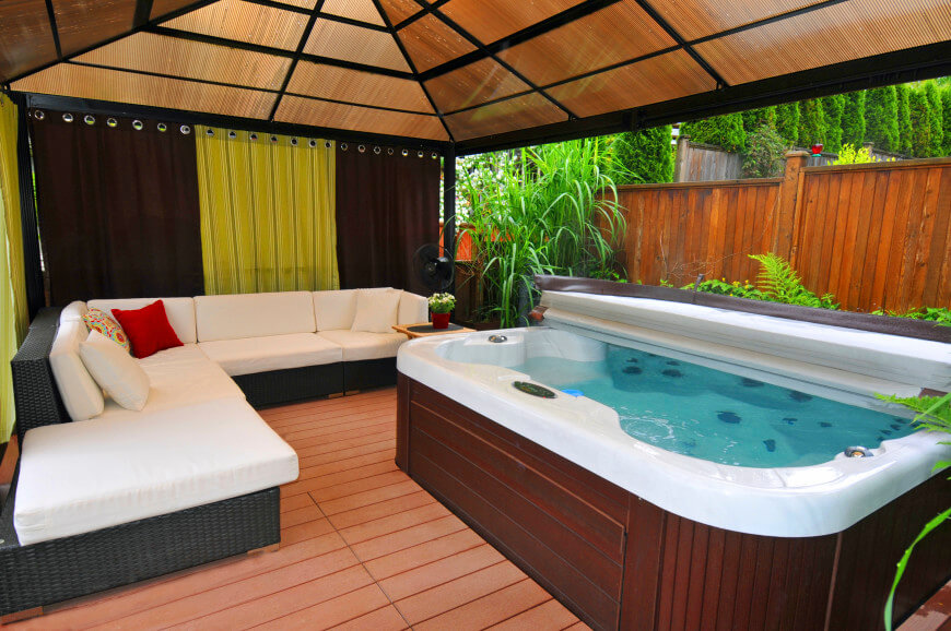 holiday homes with hot tubs
