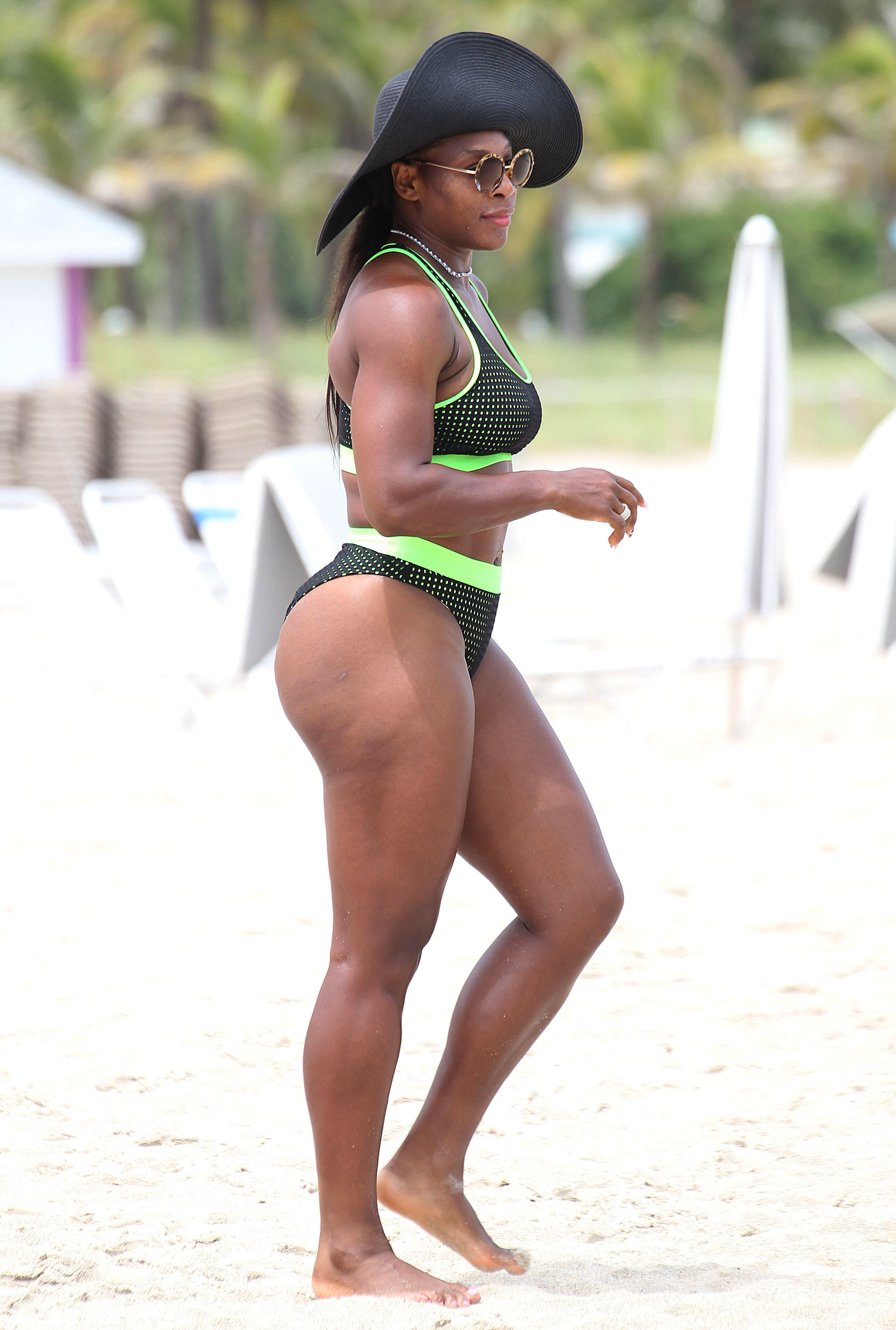 did serena win today