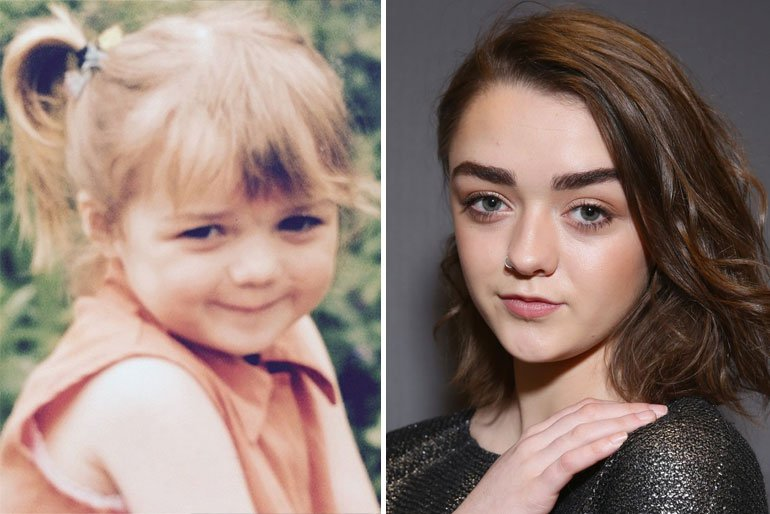 Maisie Williams-baby pictures of celebrities