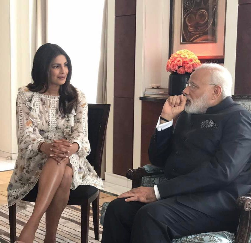 Priyanka Chopra Trolled For Wearing Dress To Meet PM Modi