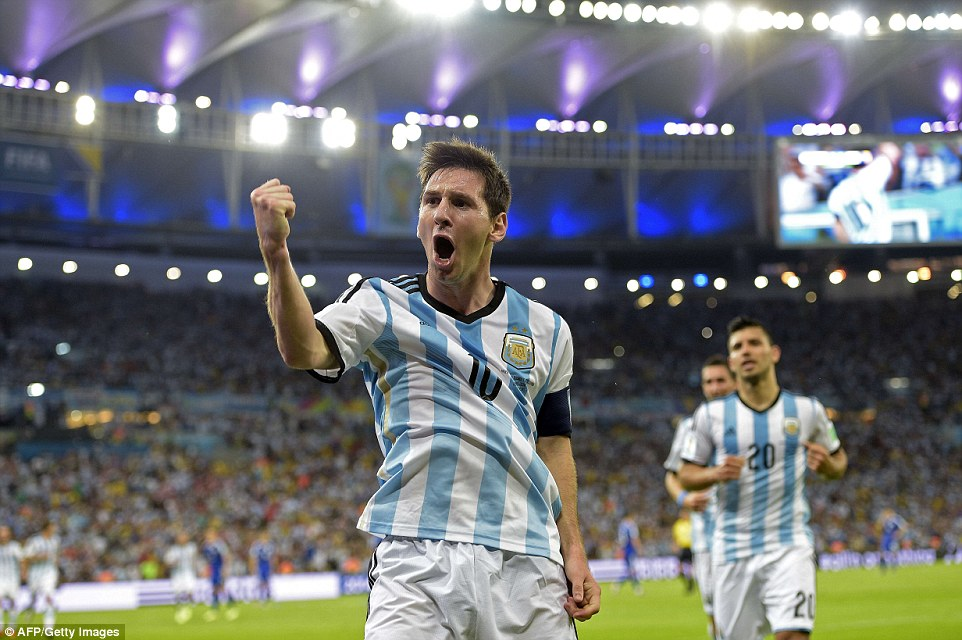 picture messi