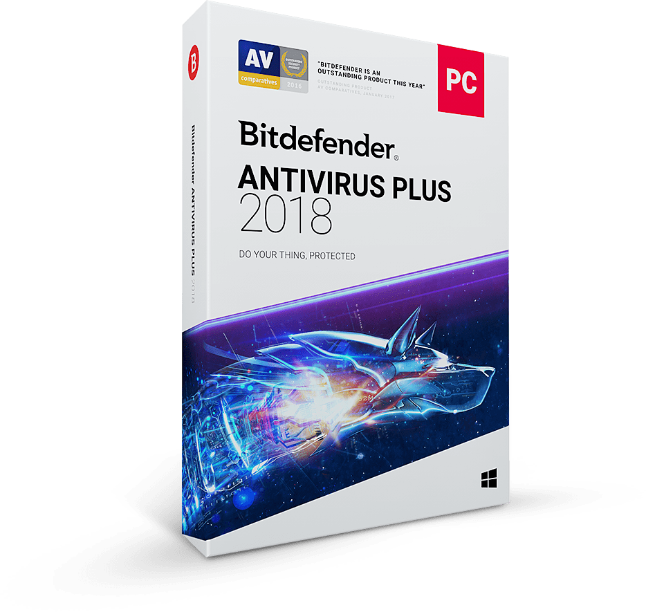 BITDEFENDER AntiVirus_Most Trusted AntiVirus Products of 2018