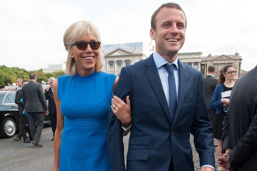 Top Love Story of Emmanuel Macron and Brigitte Trogneux VA77