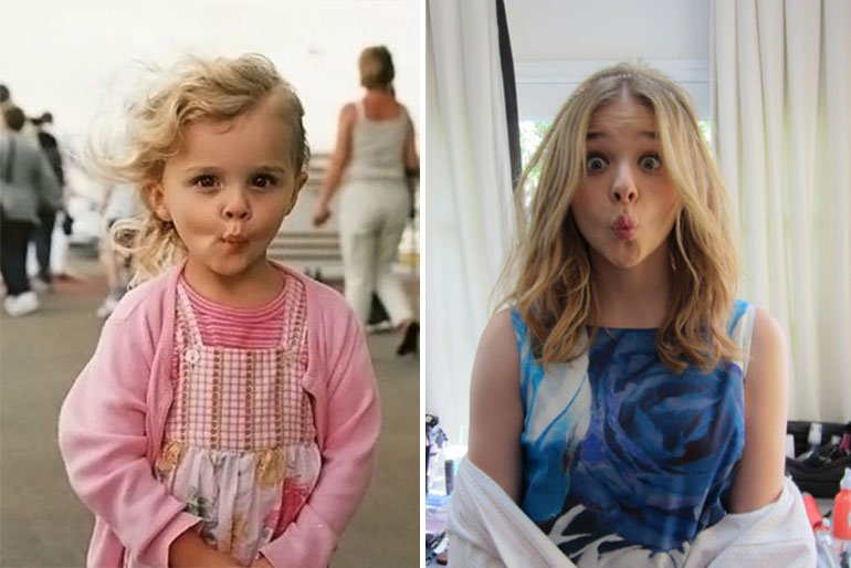 Chloë Grace Moretz-child actors grown up