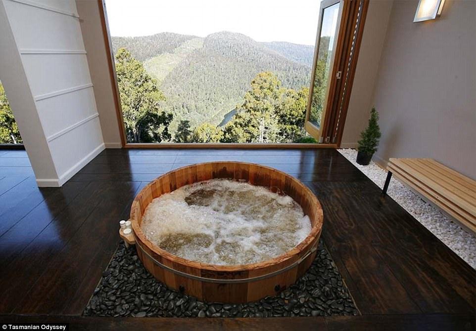 hot tub cottages