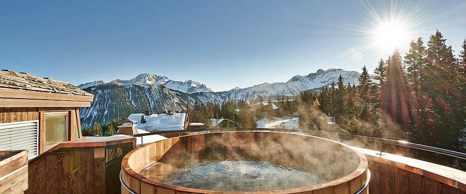 hot tub cabins