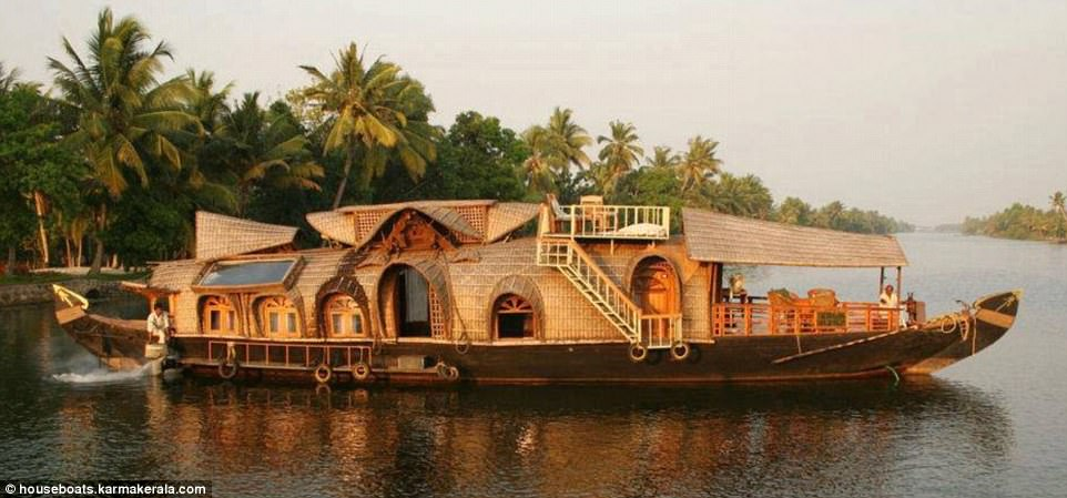 The Most Bizarre Houseboats In The World Revealed