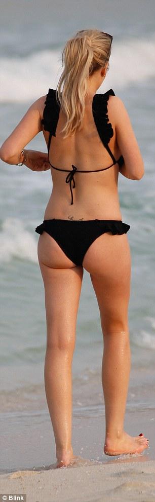 Bikini trail bumps
