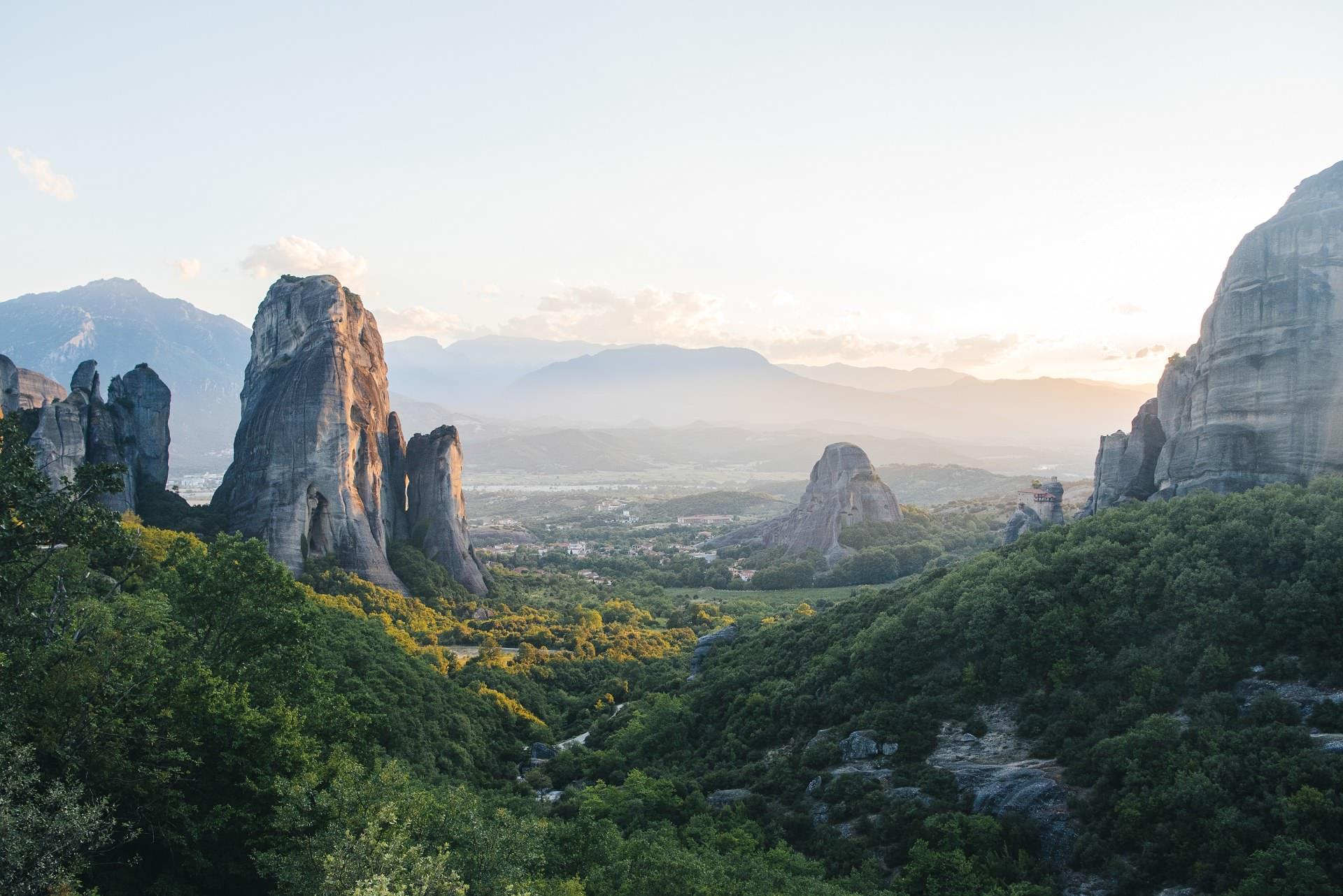 Majestic Peaks Of Europe