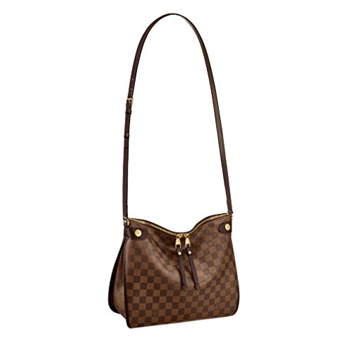 Louis Vuitton Damier Ebene Canvas Duomo Cross Body Shoulder Handbag