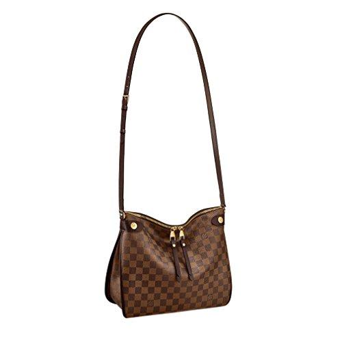 Louis Vuitton Damier Ebene Canvas Duomo Cross Body Shoulder Handbag