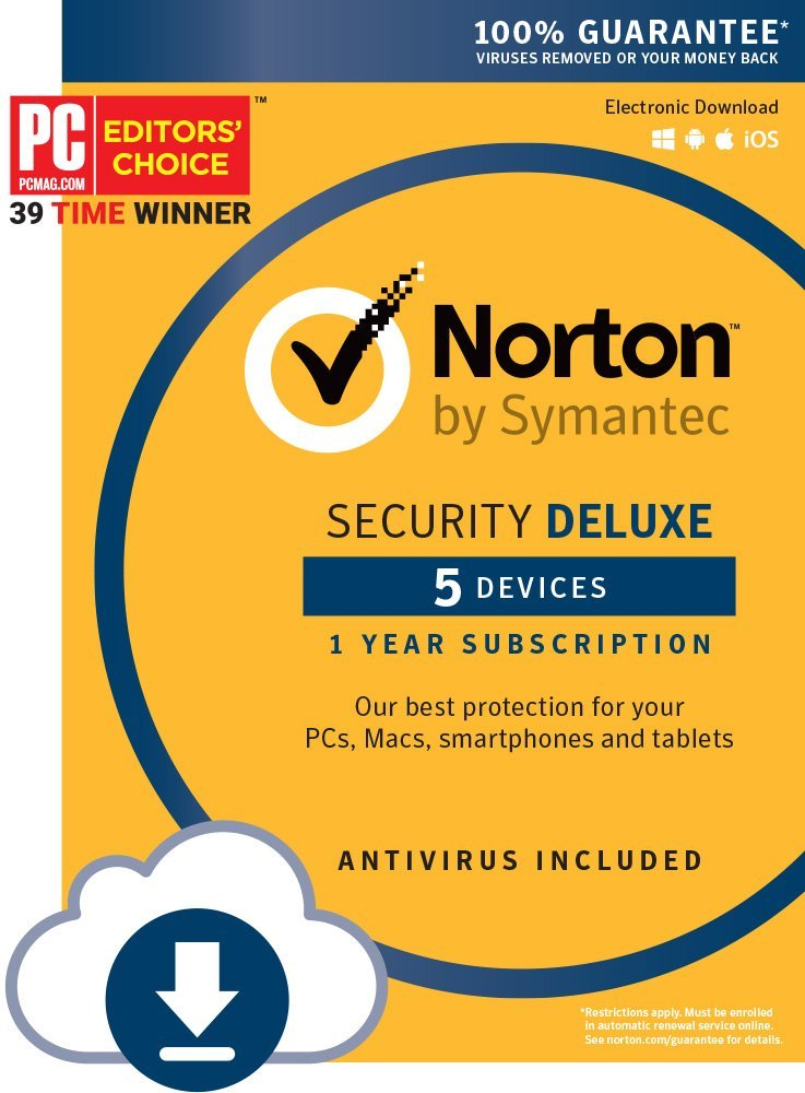 NORTON AntiVirus_Most Trusted AntiVirus Products of 2018