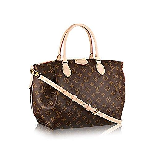 Authentic Louis Vuitton Monogram Canvas Turenne MM Tote Bag Handbag