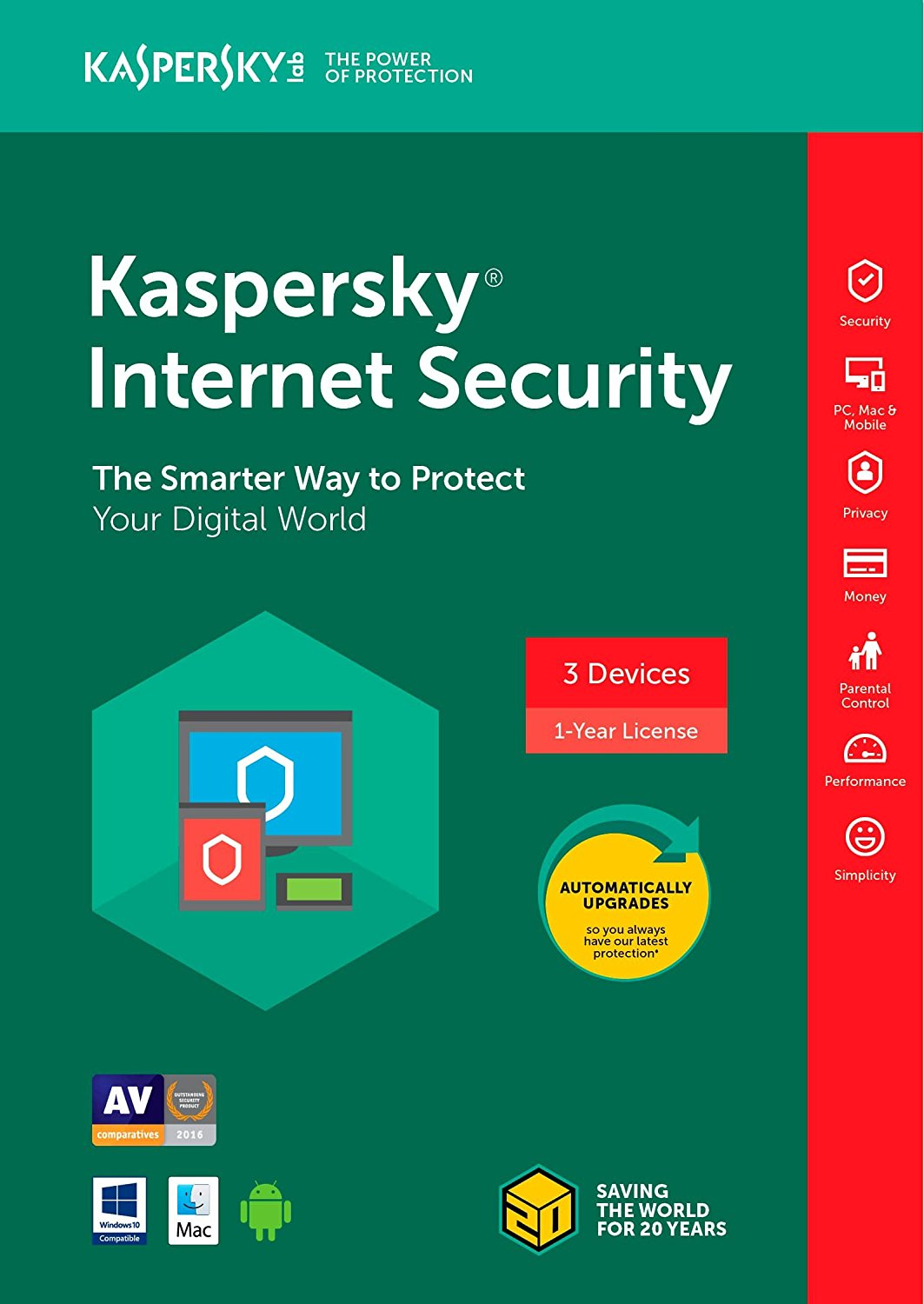 KASPERSKY AntiVirus_Most Trusted AntiVirus Products of 2018