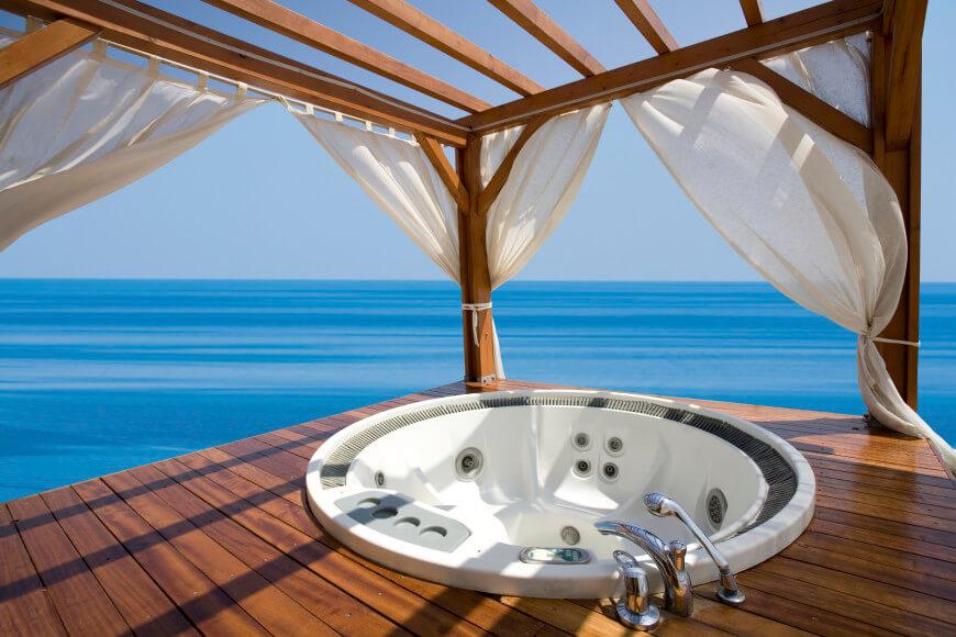 hot tub getaways