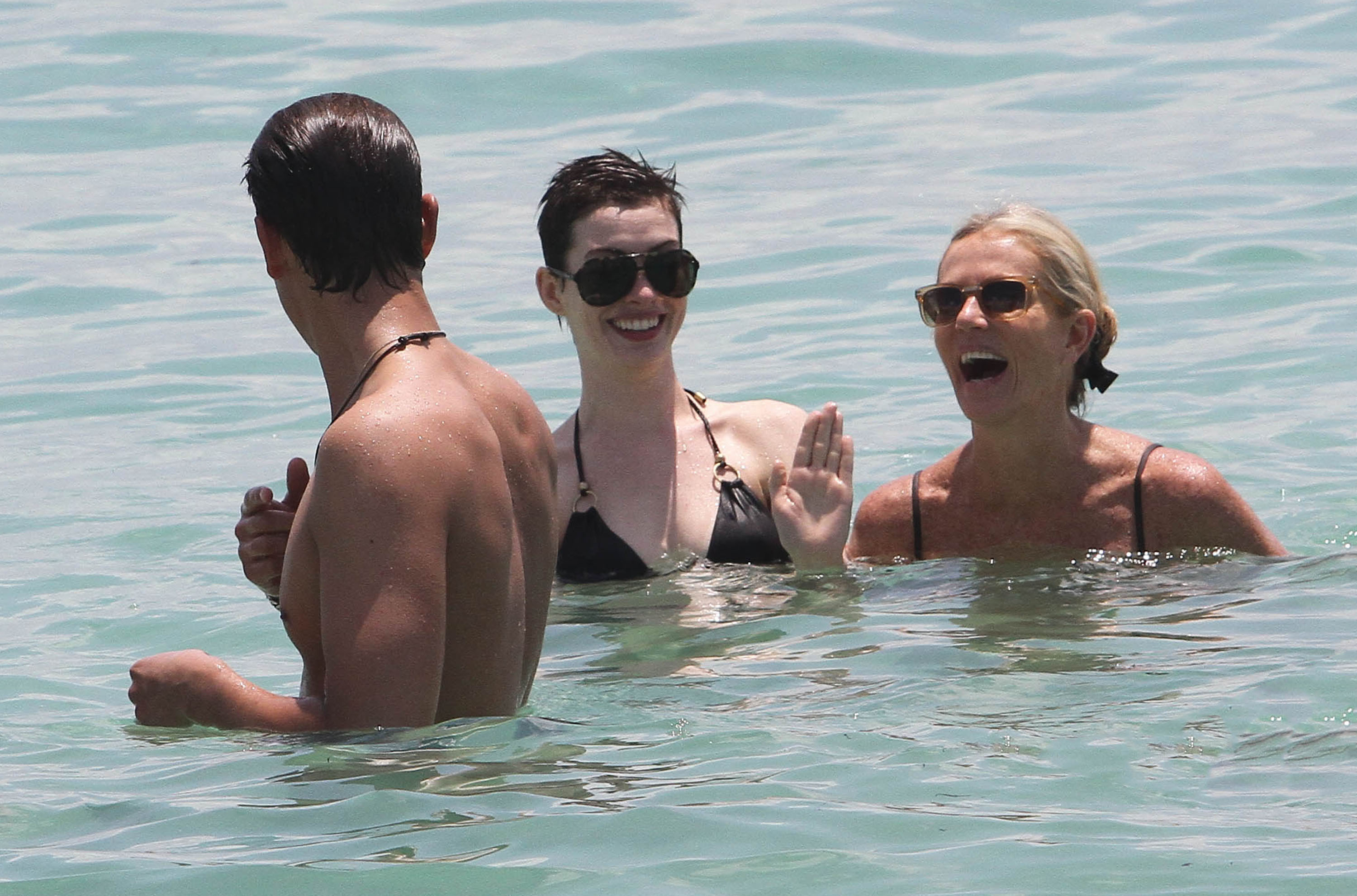 anne hathaway swimsuit