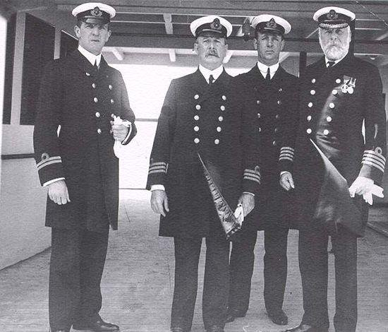Original Titanic crew