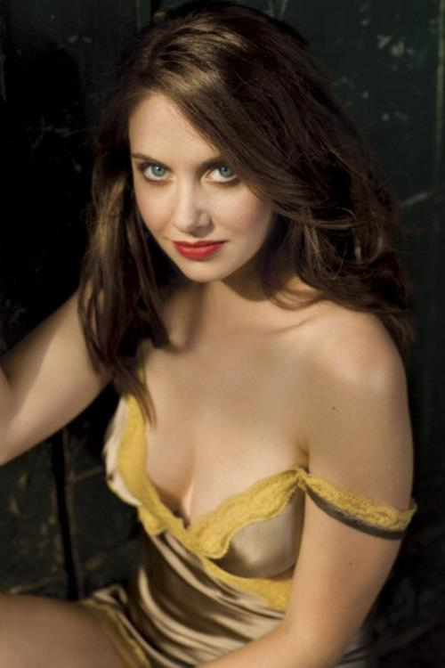 get hard alison brie