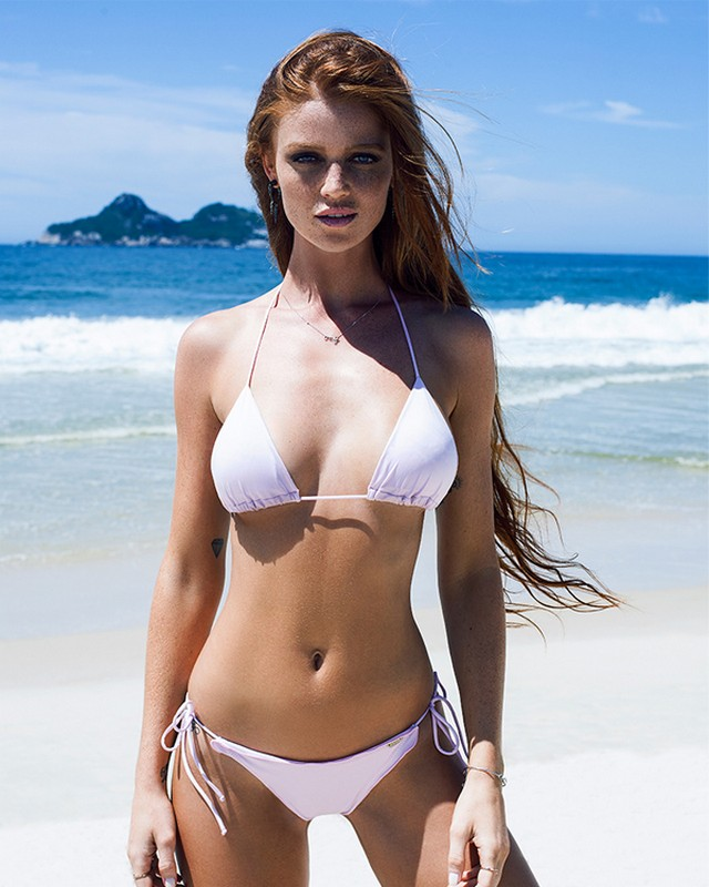 Cintia Dicker Sizzles In Her Newest Collection Of Tini Bikinis