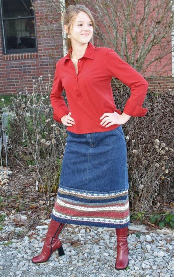 girls long skirts