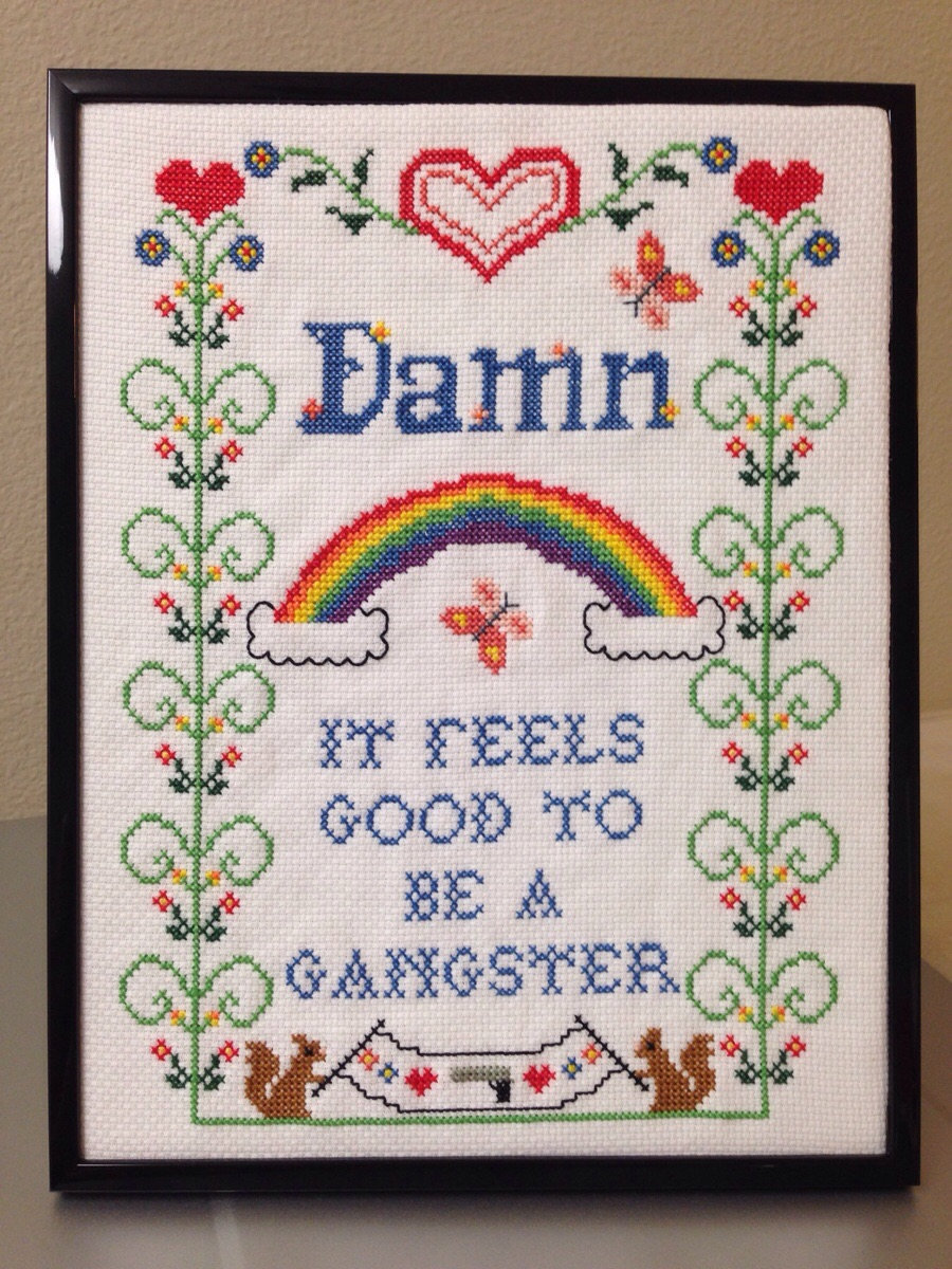 cross stitch- crafters companion