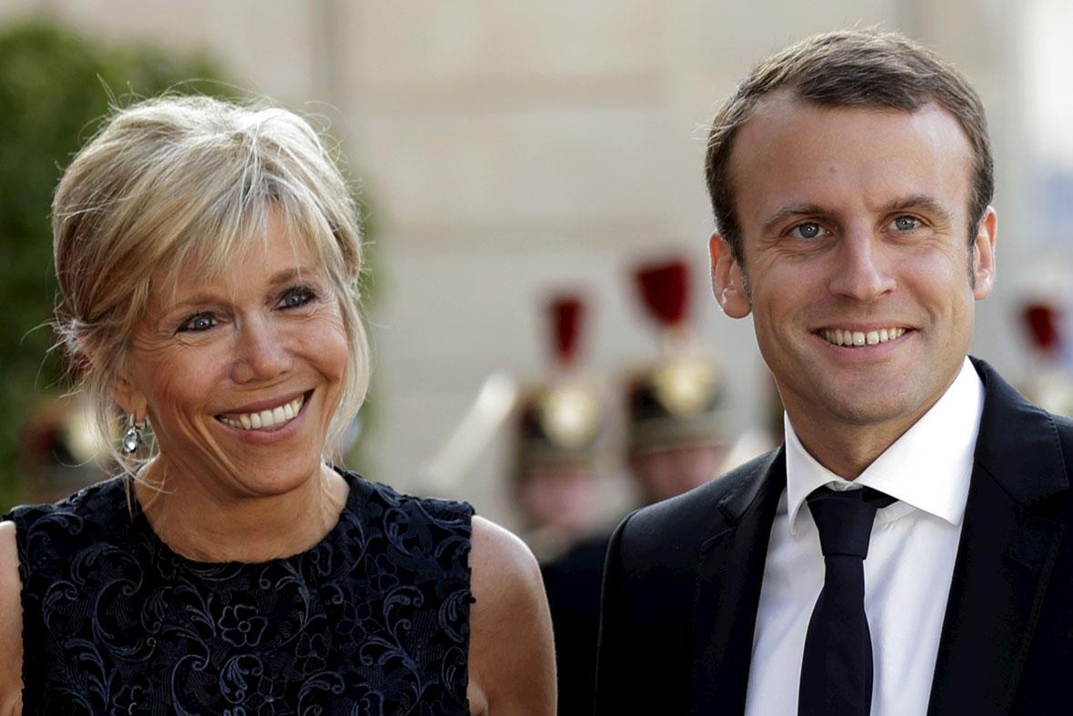 Love Story Of Emmanuel Macron And Brigitte Trogneux