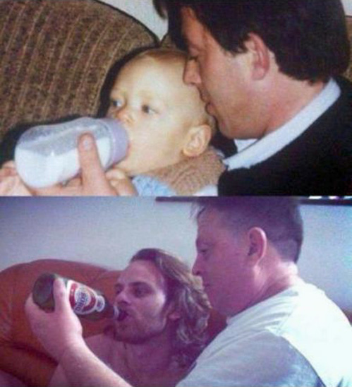 Amazing pictures recreated by father and son-V8