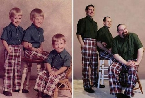 Amazing pictures recreated by father and son-V11