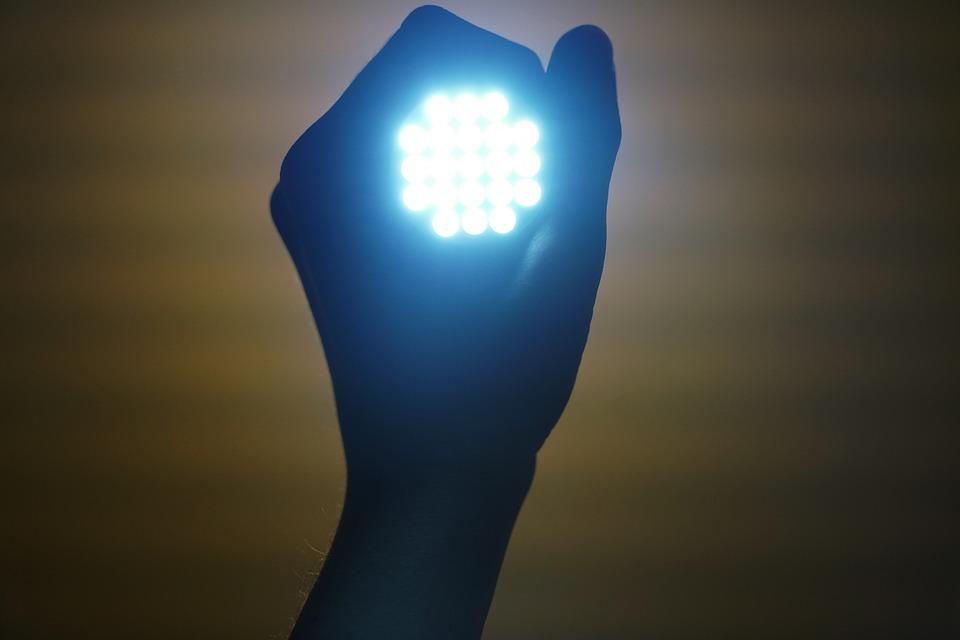 An LED Lantern